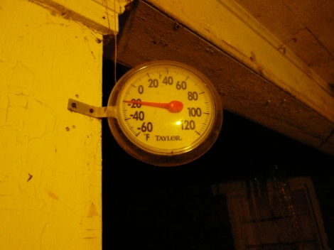-20 degrees