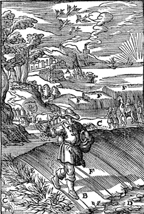 Parable of the Sower, woodcut by Christoffel van Sichem from Het Niewe Testament, 1646 (Image from Pitts Theology Library);